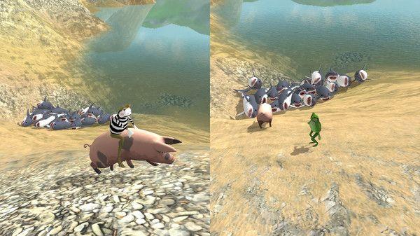 喳喳呱疯狂青蛙游戏下载安卓最新版图3: