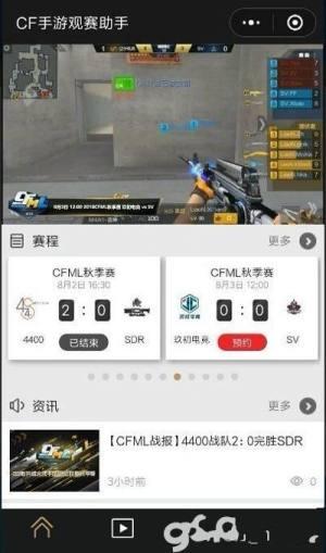 CFM观赛助手app图2