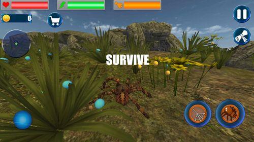 昆虫蜘蛛模拟器安卓官方版游戏下载图1: