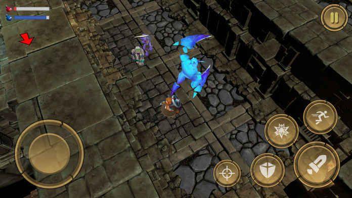 Treasure Hunter Dungeon Fight手机版IOS苹果版免费正版下载地址(宝藏猎人地下城之战)图2: