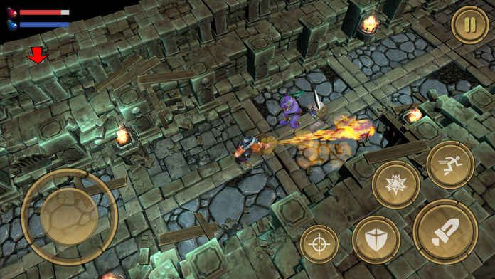 Treasure Hunter Dungeon Fight手机版IOS苹果版免费正版下载地址(宝藏猎人地下城之战)图3: