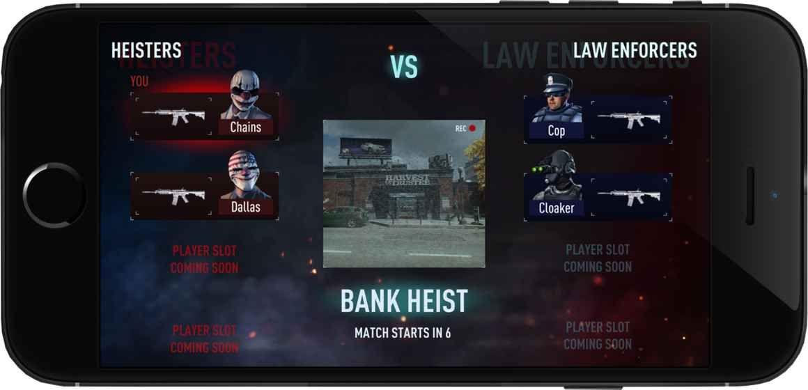 PAYDAY Crime War正版游戏官方网站下载图4:
