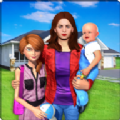 单亲妈妈模拟生活游戏