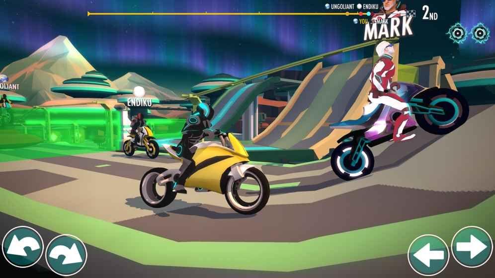 Griavity Rider无限金币中文内购修改版图3: