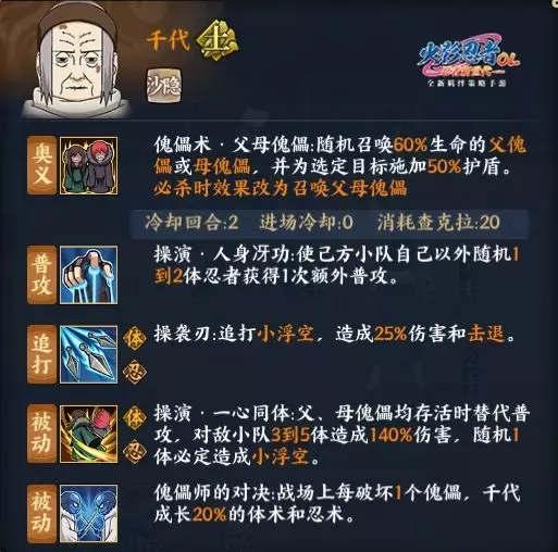 火影忍者OL手游4月4日更新公告 新忍千代疾风雏田来袭[多图]图片2