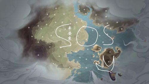 阴阳师年度大战轨迹预测活动攻略:海国入侵预测路线绘制图一览[视频][多图]图片2