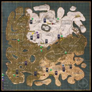 文明重启卡片刷新点位置汇总:全地图物资分布点一览图片2