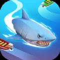 抖音鲨鱼吃人的游戏
