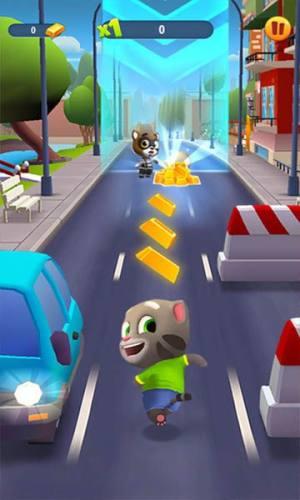 汤姆猫跑酷免费内购版安卓游戏图片1
