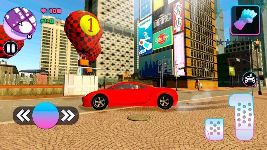 城市团伙汽车抢劫手机游戏安卓版图1: