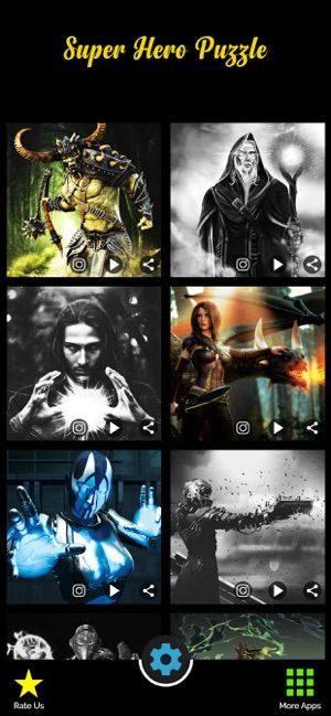 超级英雄拼图游戏图1