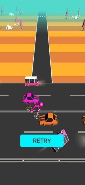 火柴人自行车竞速安卓版图2
