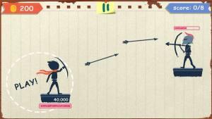 火柴人弓箭手对决破解版图2