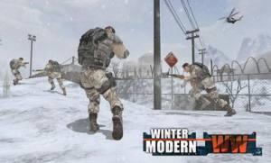 现代世界大战冬季破解版图6