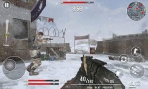 现代世界大战冬季破解版图5