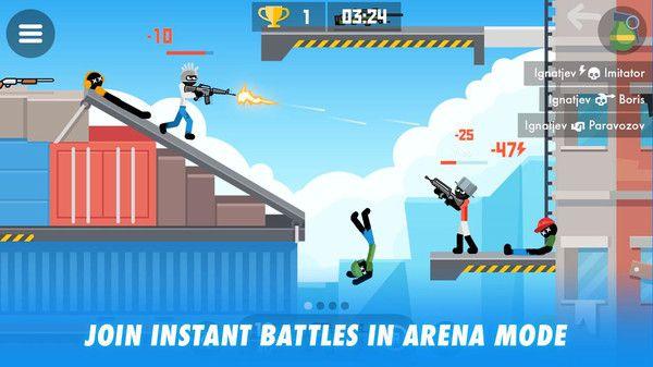 柴人传奇战士游戏安卓正式版下载图5: