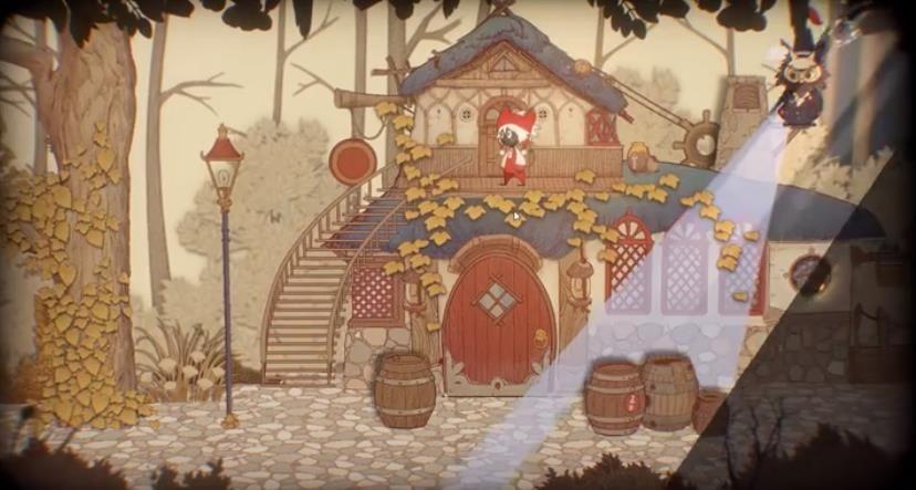 纸鱼解说Rustle故事书的奇妙冒险游戏中文版下载图4: