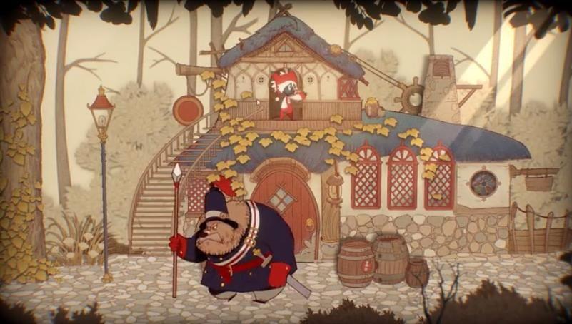 纸鱼解说Rustle故事书的奇妙冒险游戏中文版下载图1: