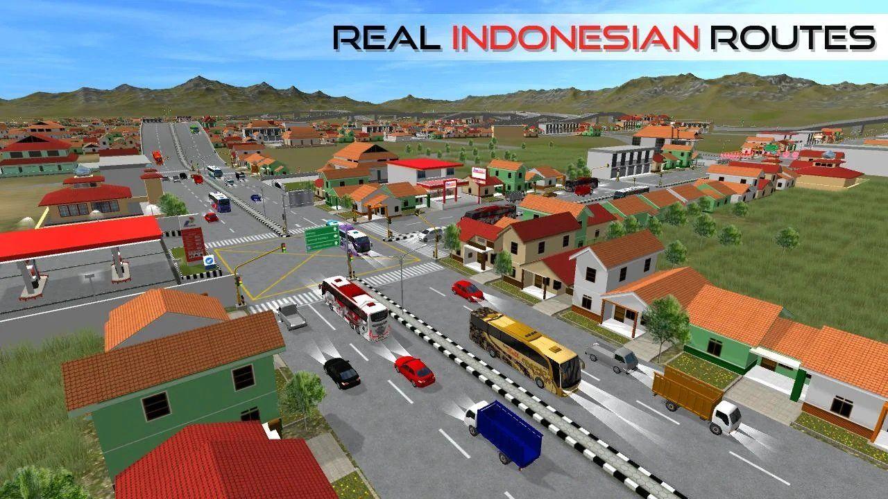 印尼巴士模拟器全皮肤解锁修改中文版图1: