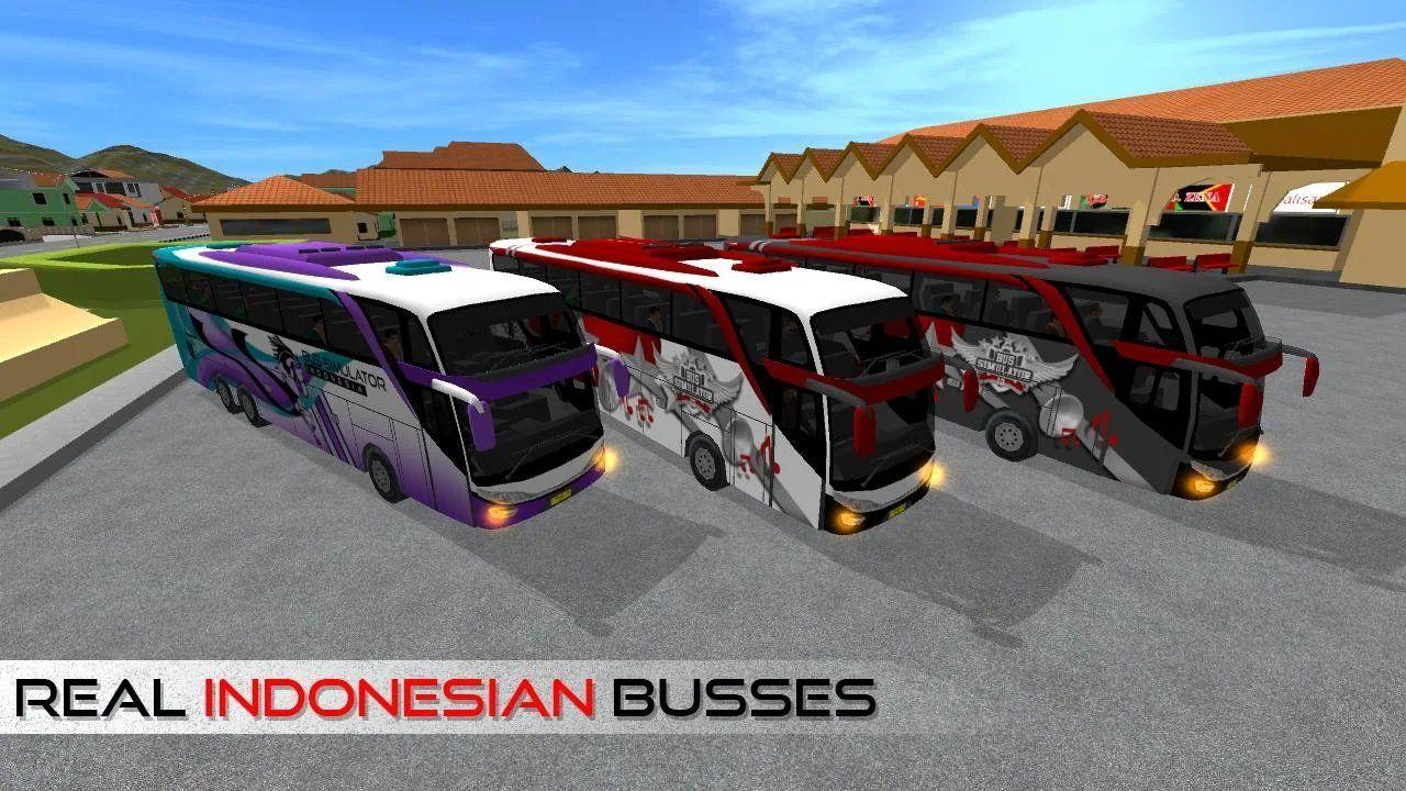 印尼巴士模拟器全皮肤解锁修改中文版图4: