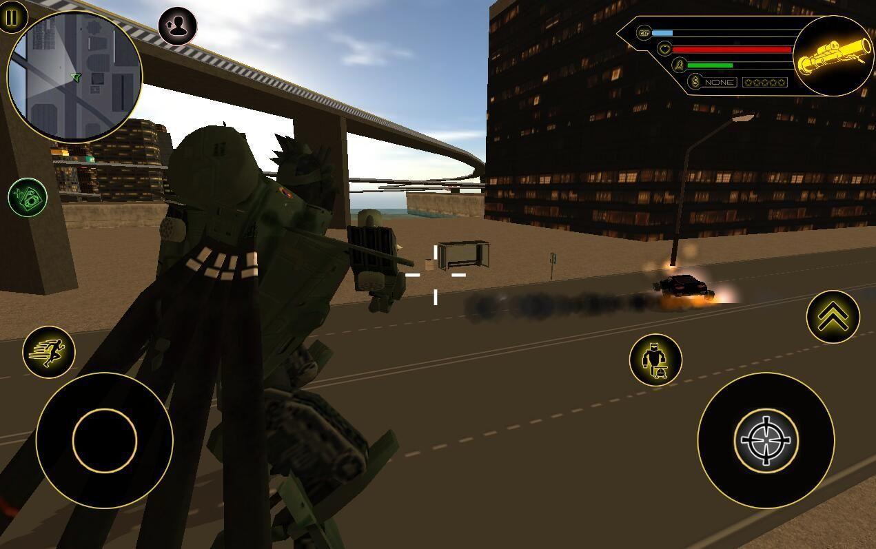 武装变形机器人直升机游戏安卓破解版图片3