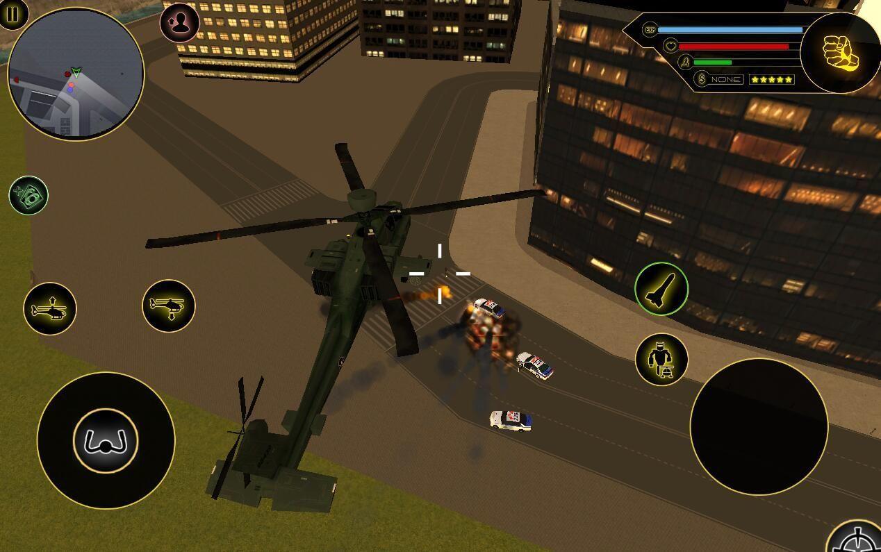 武装变形机器人直升机游戏安卓破解版图片2