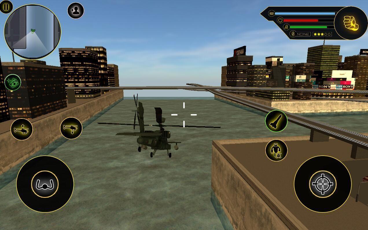 武装变形机器人直升机游戏安卓破解版图片1