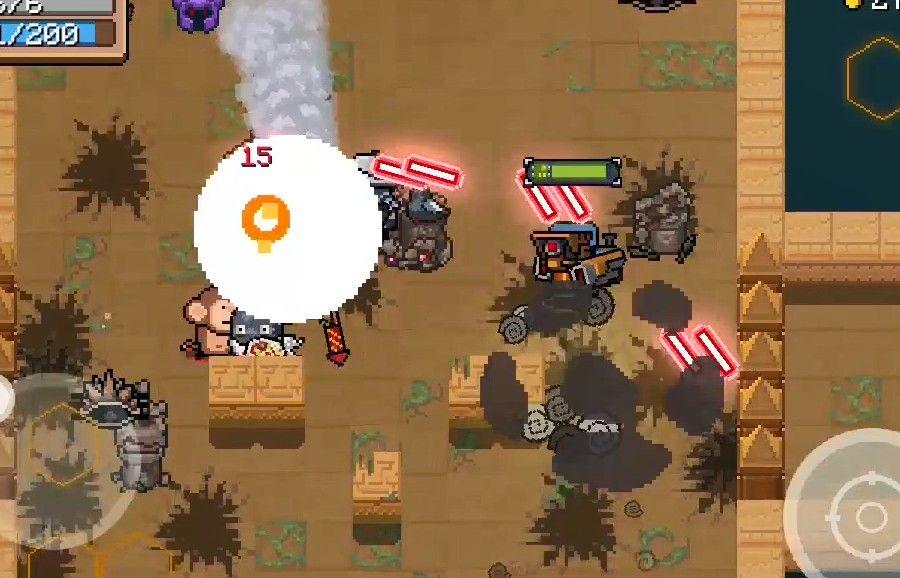 元气骑士:3护盾免疫伤害!维C机甲无敌了!次元斩最佳通关方式[视频][多图]图片2