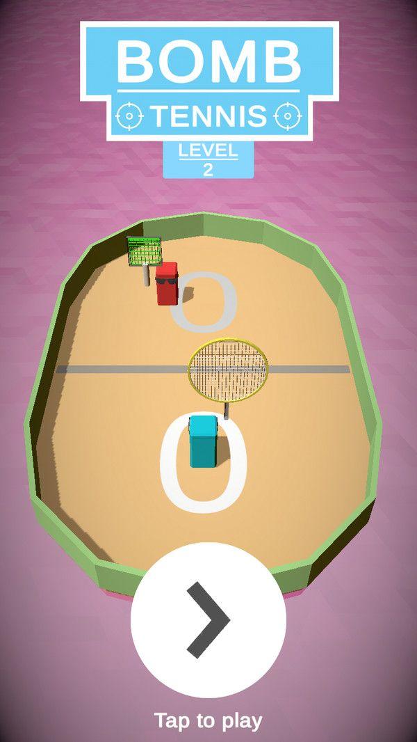 炸弹网球游戏安卓手机版图2: