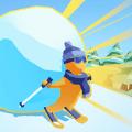 雪地滚球游戏