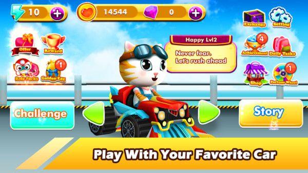 宠物世界卡丁车赛游戏无限钻石下载图4: