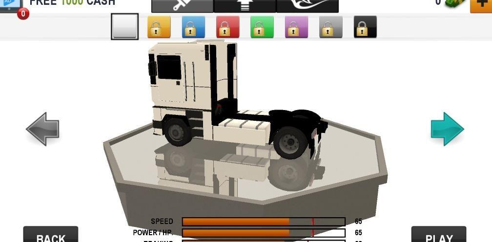 卡车驾驶模拟器2020无限金币破解版下载图1: