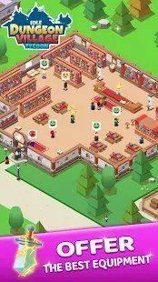 放置地牢村庄大亨游戏安卓手机版图片1