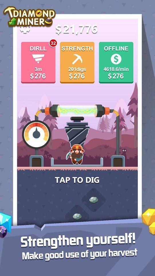 钻石旷工挖宝者游戏官方版最新下载图3: