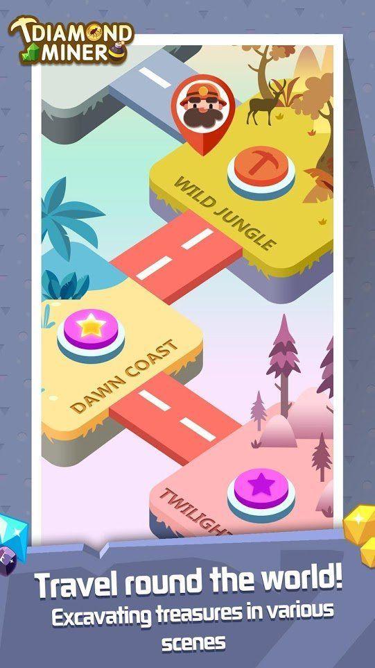 钻石旷工挖宝者游戏官方版最新下载图1: