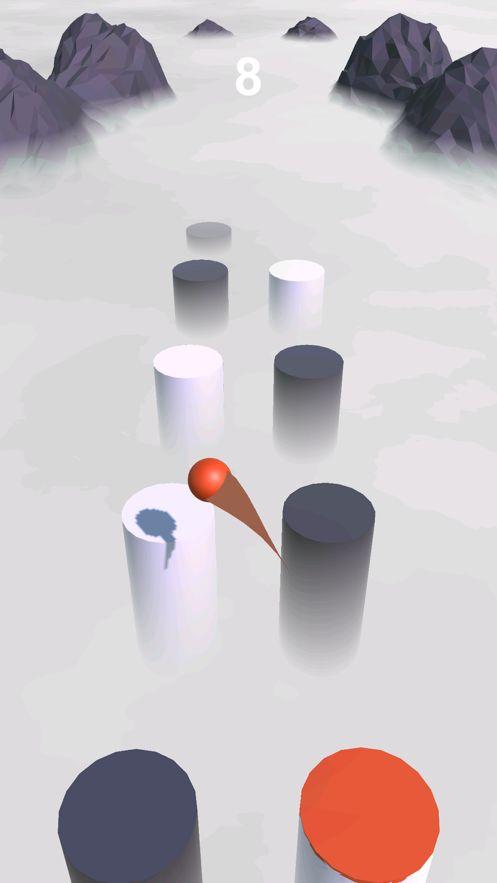 球跃3d透过云层游戏安卓版下载(Ball Hop 3D)图片1