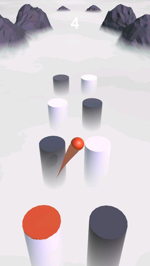 球跃3d透过云层游戏安卓版下载(Ball Hop 3D)图片4