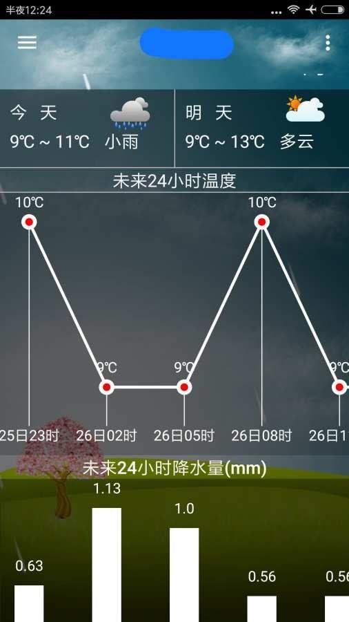 海峰天气APP软件下载官方版图2: