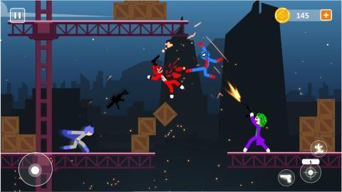 棒影超级战士战斗游戏最新版官方下载图片1