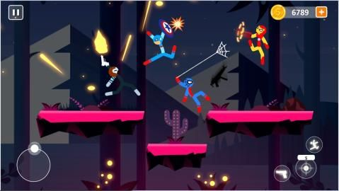 棒影超级战士战斗游戏最新版官方下载图片4