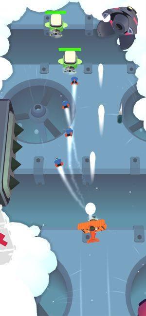 爆破飞行游戏图1