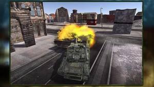 坦克部落火的世界3D中文版图2