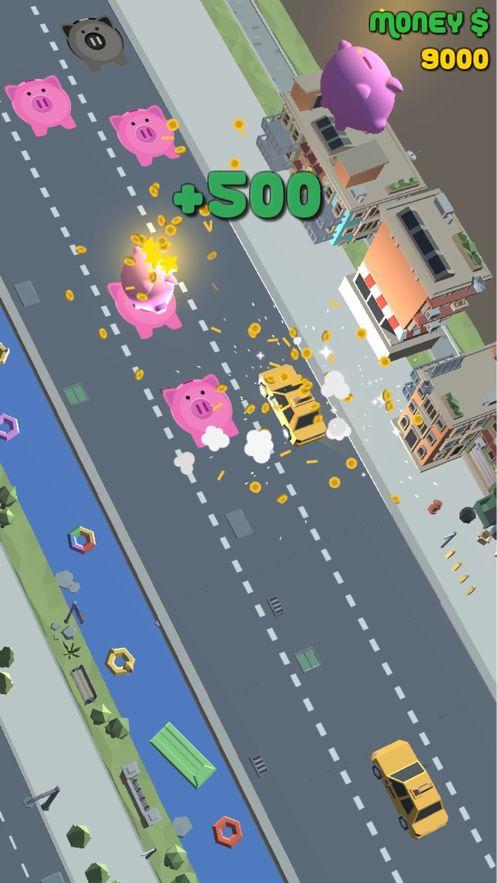 贪婪的出租车游戏汉化破解版下载(Greedy Taxi)图2: