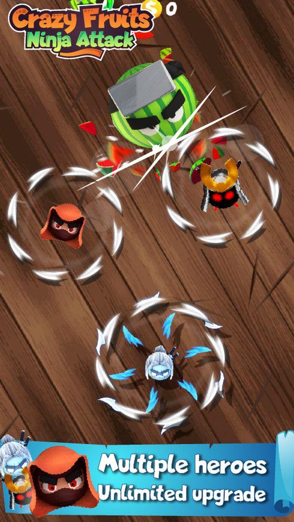 疯狂水果忍者攻击游戏中文手机版官网下载图3: