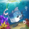 钓方块游戏无限金币钻石版下载(Fishing Cube) v1.0.0