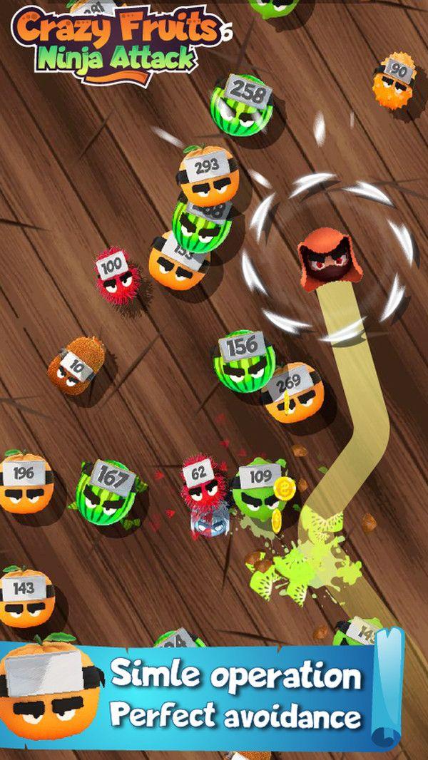 疯狂水果忍者攻击游戏中文手机版官网下载图2: