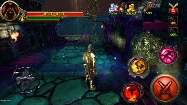 暗黑忍者武士无限金币钻石破解版图片1