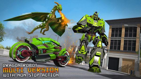 致命飞龙机器人手机游戏中文版图片1