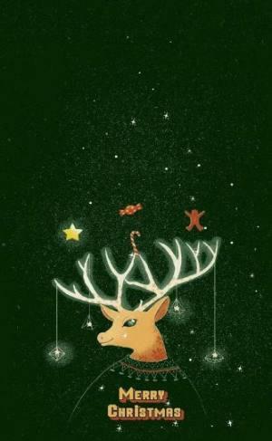 抖音圣诞节壁纸大全图6