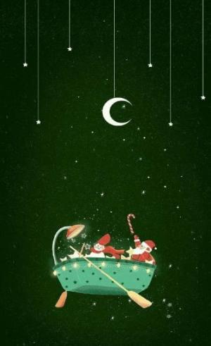 抖音圣诞节壁纸大全图7